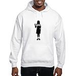 Peace Girl Gift Gear Hooded Sweatshirt