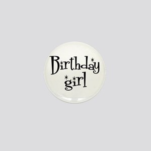 Birthday Girl Mini Button