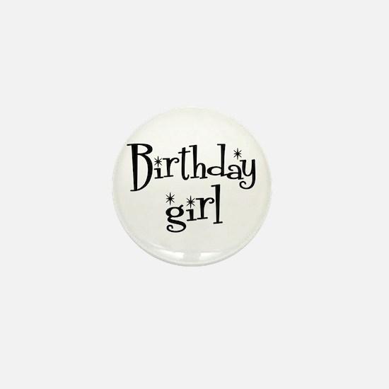 Birthday Girl Mini Button