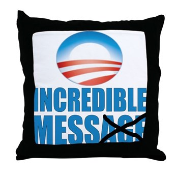Incredible Mess Throw Pillow