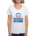 Incredible Mess Women's V-Neck T-Shirt