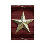 Star Americana Rectangle Magnet (10 pack)