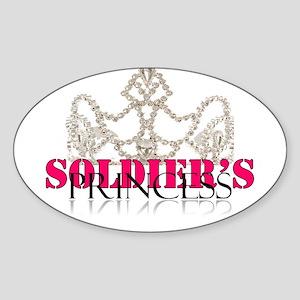 Soldier princess Sticker (Oval)