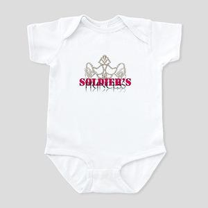 Soldier princess Infant Bodysuit