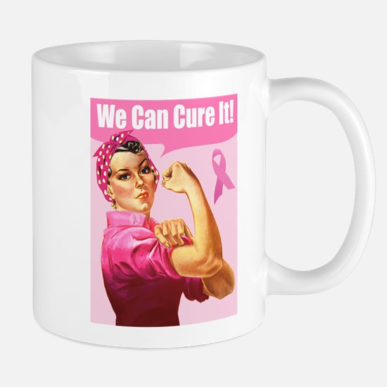 Rosie the Riveter Breast Canc Mug