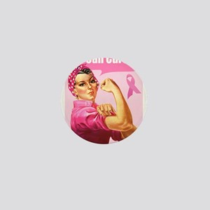 Rosie the Riveter Breast Canc Mini Button