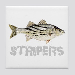 Fat Stripers Tile Coaster