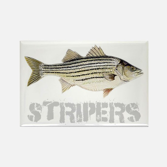 Fat Stripers Rectangle Magnet