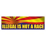 Illegal Sticker (Bumper)