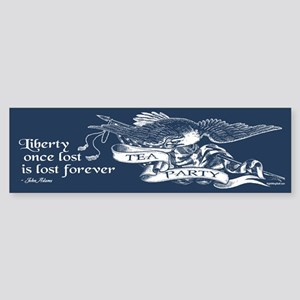 Adams Quote - Liberty Sticker (Bumper)