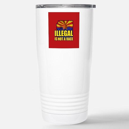 Illegal Stainless Steel Travel Mug