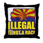 Illegal Throw Pillow