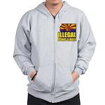 Illegal Zip Hoodie