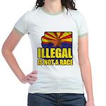 Illegal Jr. Ringer T-Shirt
