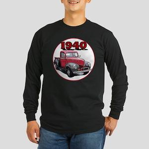The 1940 Pickup Long Sleeve Dark T-Shirt