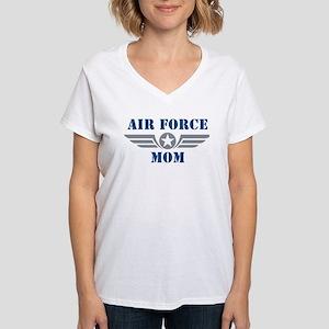 Air Force Mom Women's V-Neck T-Shirt