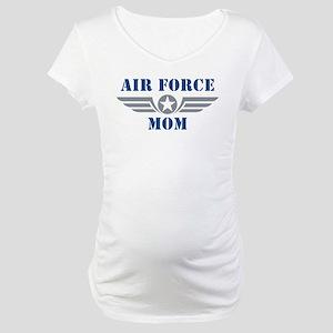 Air Force Mom Maternity T-Shirt
