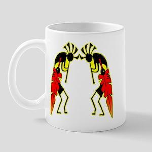Twin Kokopeli Mug