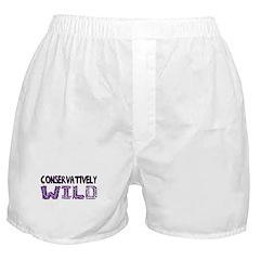 Conservatively Wild Boxer Shorts