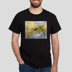 Carousel Horse Black T-Shirt