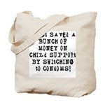 Child Support Tote Bag