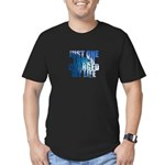 Just One Touch - Men's Fitted T-Shirt (dark)