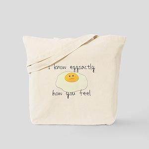 Eggsactly How You Feel Tote Bag