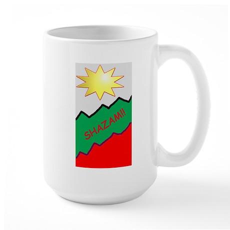 SHAZAM Large Mug
