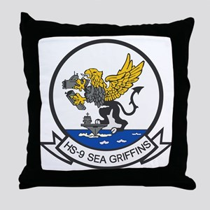 HS-9 Sea Griffins Throw Pillow