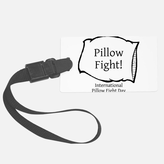 International Pillow Fight Day Luggage Tag