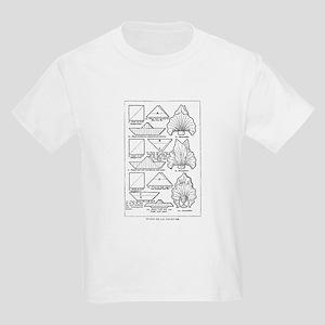 Fleur de Lis Varieties Kids T-Shirt
