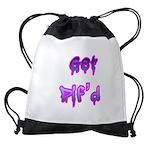 Get Pif'd Drawstring Bag