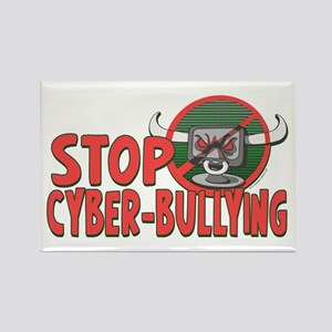 Stop Cyberbullying Rectangle Magnet