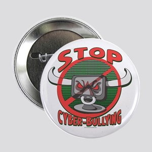 """Stop Cyberbullying 2.25"""" Button"""