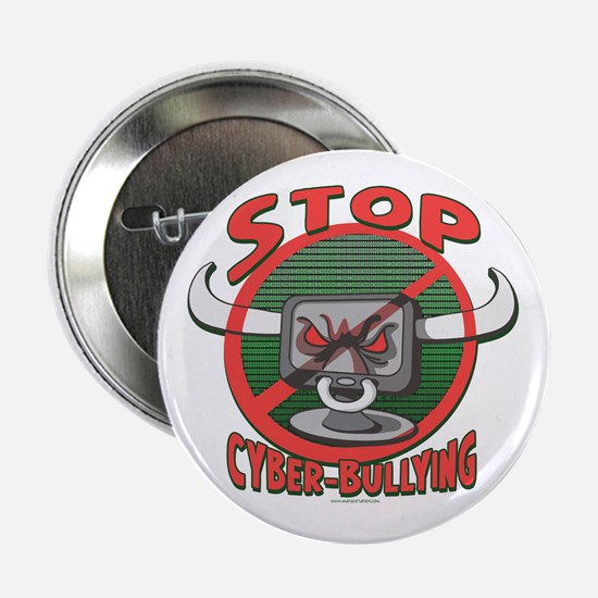 "Stop Cyberbullying 2.25"" Button"