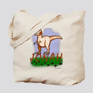 Jonah Dinosaur -T-Rex Tote Bag