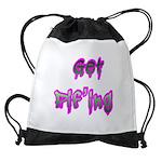 Get Pif'ing Drawstring Bag