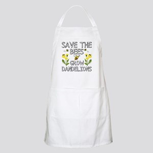 Save The Bees Grow Dandelions Light Apron
