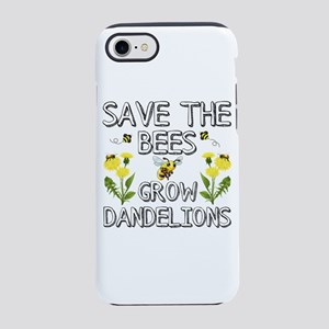 Save The Bees Grow Dandelions iPhone 7 Tough Case