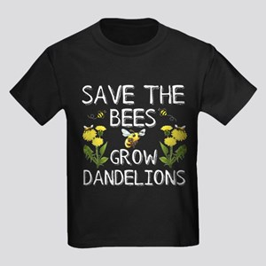 Save The Bees Grow Dandelions T-Shirt