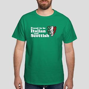 Scottish and Italian Dark T-Shirt