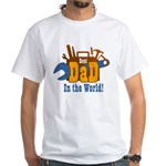 Tools Best Dad White T-Shirt