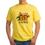 Tools Best Dad Yellow T-Shirt