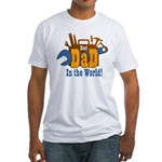 Tools Best Dad Fitted T-Shirt