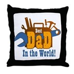 Tools Best Dad Throw Pillow