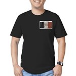 Remember the Alamo Men's Fitted T-Shirt (dark)