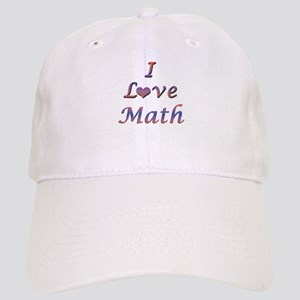 I Love Math Cap