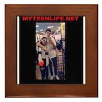 MyTeenLife.Net Framed Tile