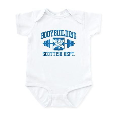 Scottish Bodybuilding Infant Bodysuit