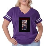 MyTeenLife.Net Women's Plus Size Football T-Shirt